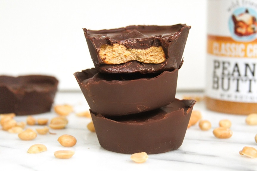 Vegan Pumpkin Peanut Butter Cups